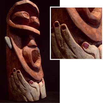 Sculpture Le Chanteur